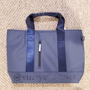 Vineyard vines cooler tote bag blue shoulder bag